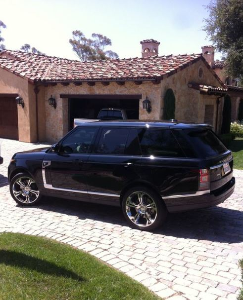 San Diego Window Tinting, Range Rover Window Tinting